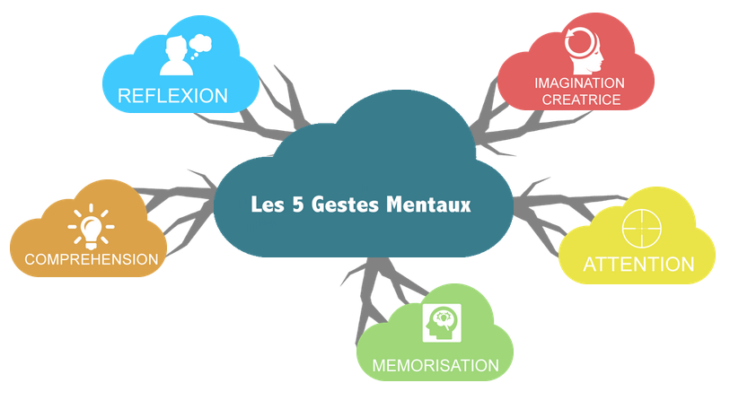 schéma gestion mentale